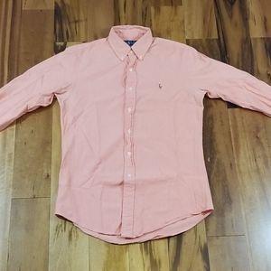 Ralph Lauren Custom Fit Long Sleeve Shirt